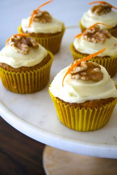 Carrot Cake Cupcakes Gimme Some Oven. Easy Carrot Cake Cupcakes {Tender Moist And Fluffy . Carrot Cake Cupcakes, Cupcake Cakes, Carrot Cakes, Mocha Cupcakes, Strawberry Cupcakes, Velvet Cupcakes, Easter Cupcakes, Flower Cupcakes, Christmas Cupcakes