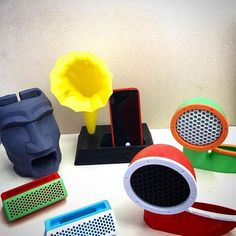 Phone Dock Boom Chick Wireless Portable Silicone Phone Stand with Amplifier Cell Phone Stand Phone Stand Sound Amplifier