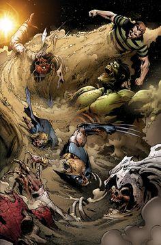 Marvel Zombies 5 ® sandman is impervious to zombie bites!!