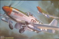 Fighter P-51D Mustang Hasegawa ST5