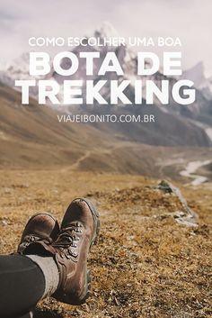 Como escolher um bom par de botas de trekking?