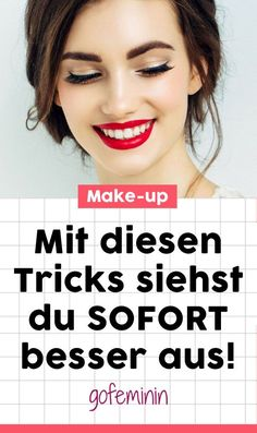 Look better immediately: You should know these make-up tips! - Anne Kuppe - - Sofort besser aussehen: Diese Make-up-Tipps solltet ihr kennen! With THIS make-up tricks you look better immediately! up skin look good - Makeup Tricks, Makeup Tutorials, Natural Hair Mask, Natural Hair Styles, Natural Beauty, Beauty Makeup, Hair Beauty, Mask Makeup, Makeup Style