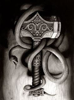 Thor hammer of the gods