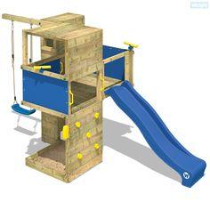 Tour de jeux Wickey Smart Cube avec une hauteur de plateforme de 120 cm. Un choix énorme en tours de jeux et des super accessoires pour bien s'amuser.