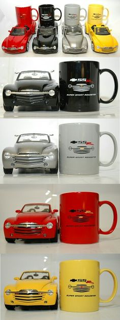 SSR mugs Chevy Ssr, Gray Hair, Car Stuff, Hot Cars, Chevrolet, Classic Cars, Wheels, Trucks, Usa