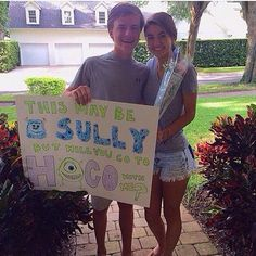 Monsters inc prom proposal