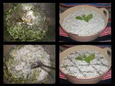 Ταλατούρι (Παραδοσιακή Συνταγή) Tzatziki, Cypriot Food, Grains, Rice, Seeds, Laughter, Jim Rice, Korn