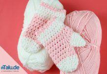 Babyhandschuhe häkeln – kostenlose Anleitung für Fäustlinge