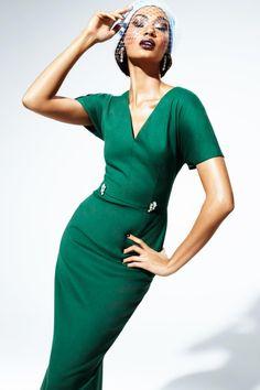 Joan Smalls + Vogue Australia, May 2012