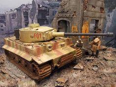 Tiger Hybrid Kampfgruppe Fehrmann