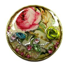 Resin Crafts: Lucky Coins Become Lucky Resin Filled Bezels