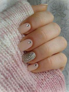 Tan/Glitter Silver