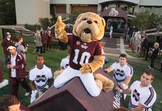 Bully is the costumed mascot of the Mississippi State University Bulldogs.