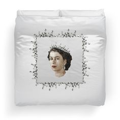 Polygonal Portrait of a Queen - Duvet Doona Cover Queen Duvet, Duvet Covers, Bedding, Blanket, Portrait, Frame, Home Decor, Picture Frame, Decoration Home