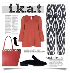 """""""IKAT"""" by virgamaleva ❤ liked on Polyvore featuring J.Crew, Kenneth Cole Reaction, Zhenzi and Robert Clergerie"""