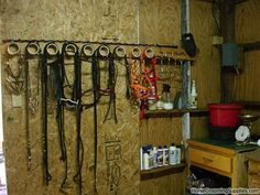 1000 Images About Tack Rooms On Pinterest Saddle Rack