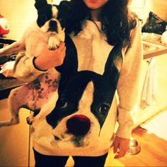 boston terrier sweatshirt.. can I have this please?