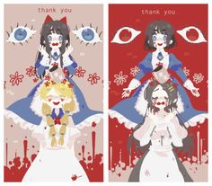 I just realized, this art style is almost identical to the one for Harpae's theatre in Pocket Mirror...