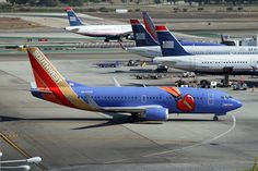 Southwest Airlines at LAX Aircraft Painting, Airplane Design, Southwest Airlines, Commercial Aircraft, Civil Aviation, Military Aircraft, Airplanes, Crown, Airports