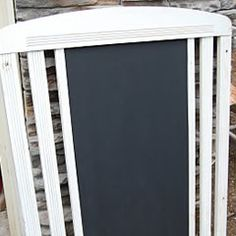 Reuse Crib Chalkboard