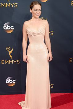 Emilia Clarke in Versace - Emmy 2016