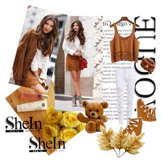"""""""SheIn :)"""" by irma-salkic ❤ liked on Polyvore featuring Rituals, sun, day, brown and shein"""