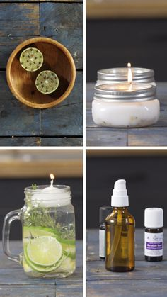 Mosquito repellent tips Pot Mason Diy, Mason Jars, Upcycled Crafts, Diy Crafts To Sell, Diy Candles Video, Frosta, Velas Diy, Jar Lights, Natural Cleaning Products