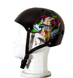 Skateboarding Helmets - Punisher Skateboards Jinx 11Vent Skateboard Helmet Youth Size Medium Black -- Click image for more details.