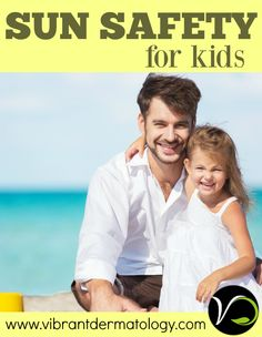 Sun Safety for kids.  In honor of skin cancer awareness month, a dermatologist (and mom) shares tips for protecting children from harmful UV Rays.  Including safe & effective sunblock recommendations.    Visit www.vibrantdermatology.com for more information.
