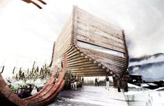 This is a project by BIG - Bjarke Ingels Group + Architectural Nexus and it is located at Park City, Utah, United States.