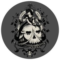 Enkel Dika's Domina Mori Circle Decal