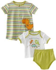 Babyworks Baby-Boys Newborn 3 Piece Romper Set --- http://bizz.mx/eny