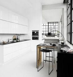 Minimalist Danish Kitchen Designs by Kvik