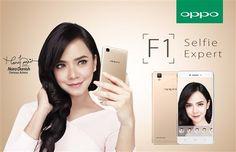 Spesifikasi Ponsel Oppo F1 'Selfie Expert'