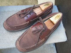 Nunn Bush Used Brown Leather Top-Siders Boat Shoes 10.5 #NunnBush #BoatShoes