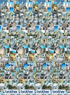Magic-eye Photo for Rainie. Paris