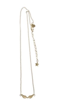 Short Wings Necklace Gold Plated by Betty Bogaers http://www.bettybogaers.com