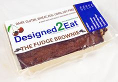 The Fudge Brownie – Designed2Eat Ltd