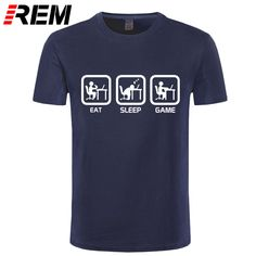 REM  Fashion Eat Sleep Game XBOX Gamer Funny T-shirt Men Humor Casual Printed College Mens Short Sleeve T Shirt Brand Clothing. Yesterday's price: US $9.99 (8.26 EUR). Today's price: US $8.69 (7.19 EUR). Discount: 13%.