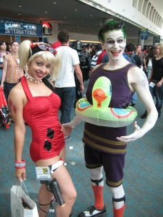 Harley quinn & Joker cosplay