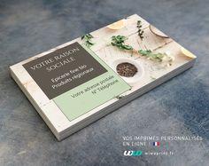 Carte De Visite Pour Une Epicerie Ou Un Restaurant Bio Dans Le Style Frais Et