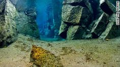 The world's weirdest (and coolest) places to scuba dive - this is a continental rift