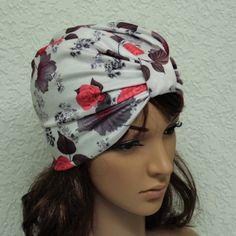 Women's turban hat, summer turban, stylish hat for women, full turban, stretchy turban, elegant head wear, modish turban, made from nylon by accessoriesbyrita on Etsy