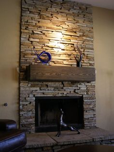 Merveilleux Stone Veneer Fireplace | Fireplaces Arizona Fireplaces Installed By A  Better Stone 602 291 4778