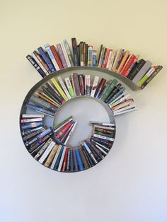 Spiral Bookshelf Medium by briannakufa on Etsy, $500.00