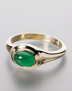 Goldener Ring mit Smaragd - #schmuck #jewellery #sognidoro #sogni #d´oro #ring #Smaragd #Emerald
