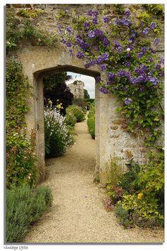 Rousham Gardens - The Walled Garden, Oxfordshire