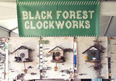 Black Forest Clockworks.