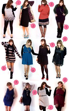 Best Curvy Outfit 2012 on morbidalavita.com - Pick your favourite!