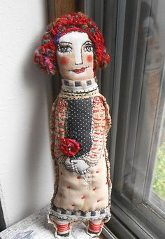 Emilia Perussi - Doll with red hair